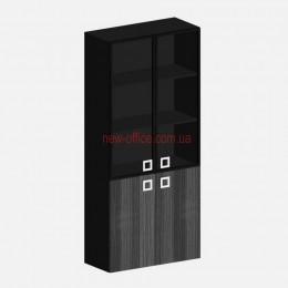 Шкаф высокий стеклянный Морион 23/904 (900х400хН2000)