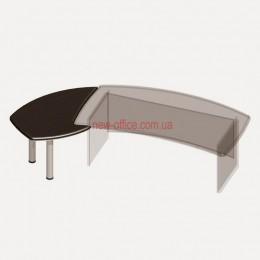 Приставной стол Альянс 21/110 (885*1270*Н760)