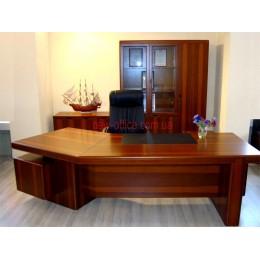 Стол руководителя Мукс орех YDK-303 (2700*960/1900*Н760)