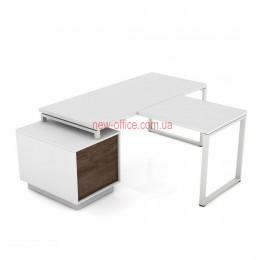 Стол Промо Топ Комби Q33-L1600 приставка (1600*1600*Н761)