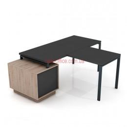 Стол Промо Топ Комби T33-L1600 приставка (1600*1600*Н761)
