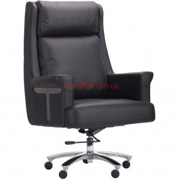 Кресло VIP Франклин (Franklin) Black DT кожа черная