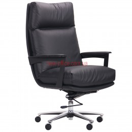 Кресло VIP Кеннеди (Kennedy) Black DT кожа черная