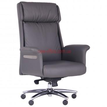 Кресло VIP Труман (Truman) Grey MF кожа серая