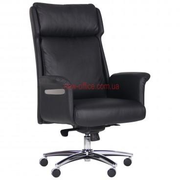 Кресло VIP Труман (Truman) Black MF кожа черная