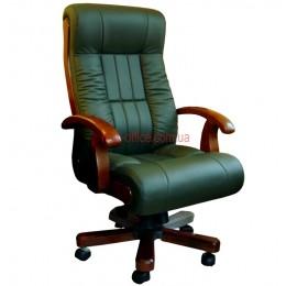 Кресло Мурано EXTRA MB кожа зеленая