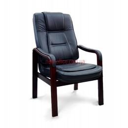 Кресло кожаное Новаро CF EXTRA LE черный