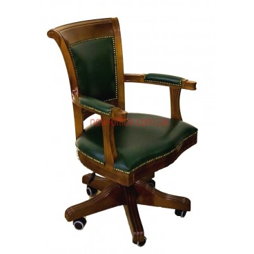 Кресло кожаное  Оливер EX ANYFIX YA