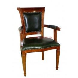 Кресло кожаное Оливер EX YA