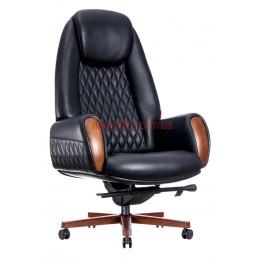 Кресло Boing F-183 кожа черная