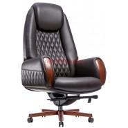 Кресло Boing F-183 кожа коричневая