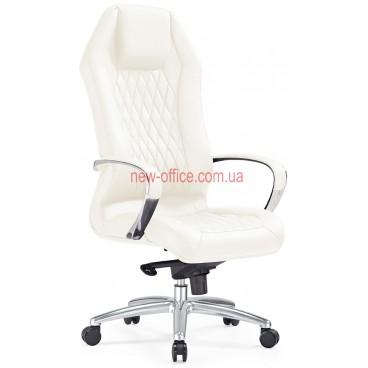 Кресло F-103 WL кожа белая