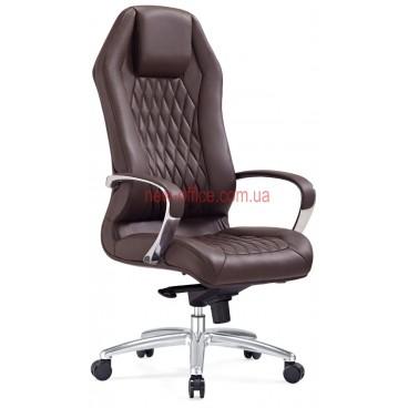 Кресло F-103 BRL кожа коричневая
