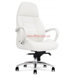 Кресло F-181 WL кожа белая