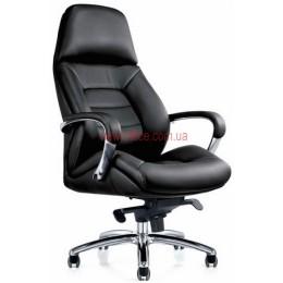 Кресло F-181 BL кожа черная