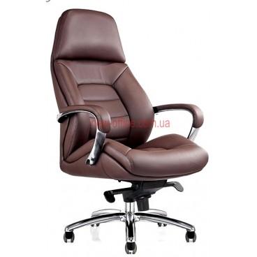 Кресло F-181 BRL кожа коричневая