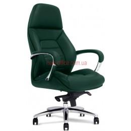 Кресло F-181 GL кожа зеленая