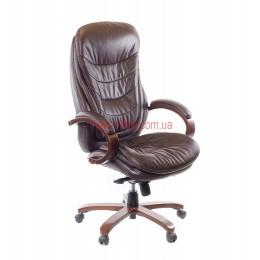 Кресло кожаное VA-104HB EXTRA MB LE коричневое