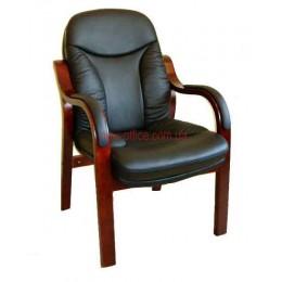 Кресло кожаное Гранд CF EXTRA черный