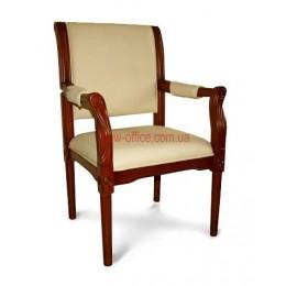 Кресло кожаное Версаль EX CF DA бежевое