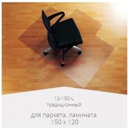 Прозрачный защитный коврик для паркета и ламината (1500*1200*2.0) традиционный