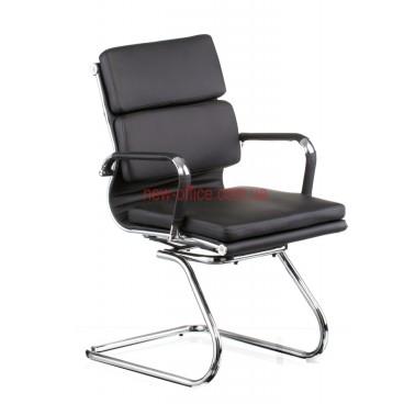 Кресло Солано 3 (Solano 3) конференц ECO черный