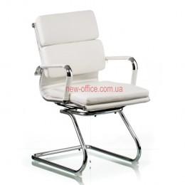 Кресло Солано 3 (Solano 3) конференц ECO белый