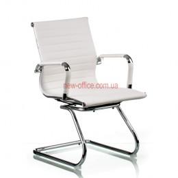 Кресло Солано (Solano) конференц ECO белый