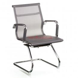 Кресло Солано (Solano) конференц Сетка серый