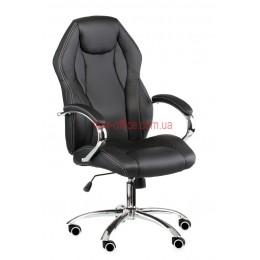 Кресло Кросс (Kross) ECO черный