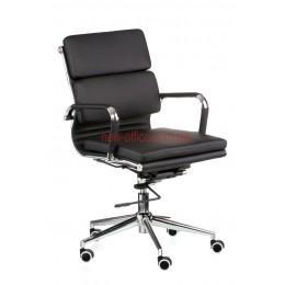 Кресло Солано 3 (Solano 3) ECO черный