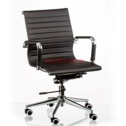 Кресло Солано 5 (Solano 5) ECO черный