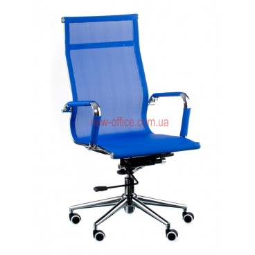 Кресло Солано (Solano) Сетка синий