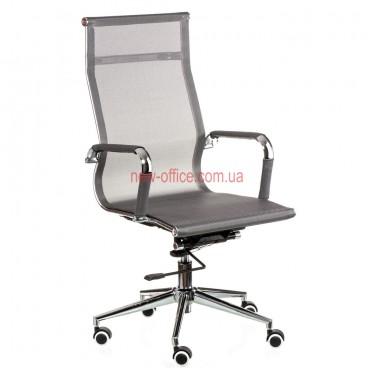 Кресло Солано (Solano) Сетка серый