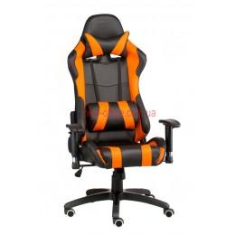 Кресло Экстрим Рэйс (Extreme Race) Relax Eco черный/оранжевый