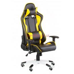Кресло Экстрим Рэйс (Extreme Race) Relax Eco черный/желтый
