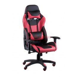 Кресло Экстрим Рэйс (Extreme Race) Relax Eco черный/красный