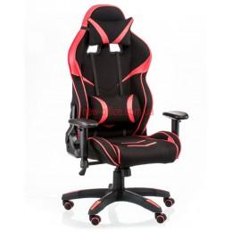 Кресло Экстрим Рэйс 2 (Extreme Race 2) Relax Ткань черный/красный