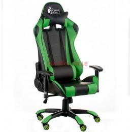 Кресло Экстрим Рэйс (Extreme Race) Relax Eco черный/зеленый