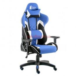 Кресло Экстрим Рэйс 3 (Extreme Race 3) Relax Ткань черный/синий/белый