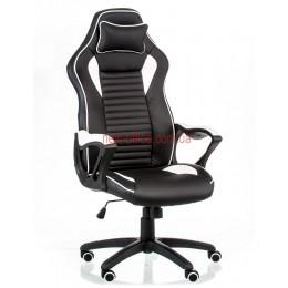 Кресло Неро (Nero) Tilt Eco черный/белый