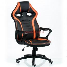 Кресло Гейм (Game) Tilt Eco черный/оранжевый