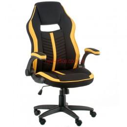 Кресло Прайм (Prime) Tilt Ткань черный/желтый
