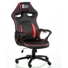 Кресло Нитро (Nitro) Tilt Eco черный/красный