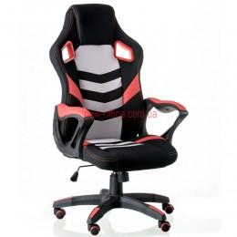 Кресло Абусе (Abuse) Tilt Eco черный/красный