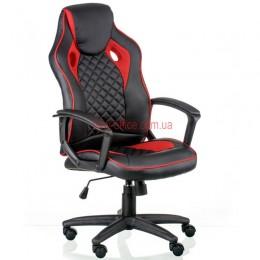 Кресло Мецо (Mezzo) Tilt Eco черный/красный